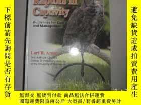 二手書博民逛書店Raptors罕見in Captivity: Guideline