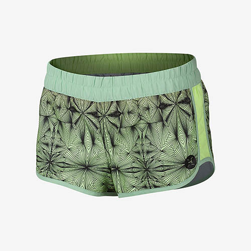 HURLEY|女 SUPERSUEDE PRINTED BEACHRIDER 海灘褲 (寶石綠)