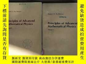 二手書博民逛書店principles罕見of advanced mathematical physics volume 1+2(P