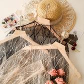蕾絲打底衫蕾絲打底衫女長袖薄款洋氣紗衣秋冬毛衣內搭薄紗雷絲透明網紗上衣 果果生活館