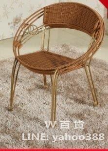 宜家靠背小籐椅 兒童通用型陽台矮凳子