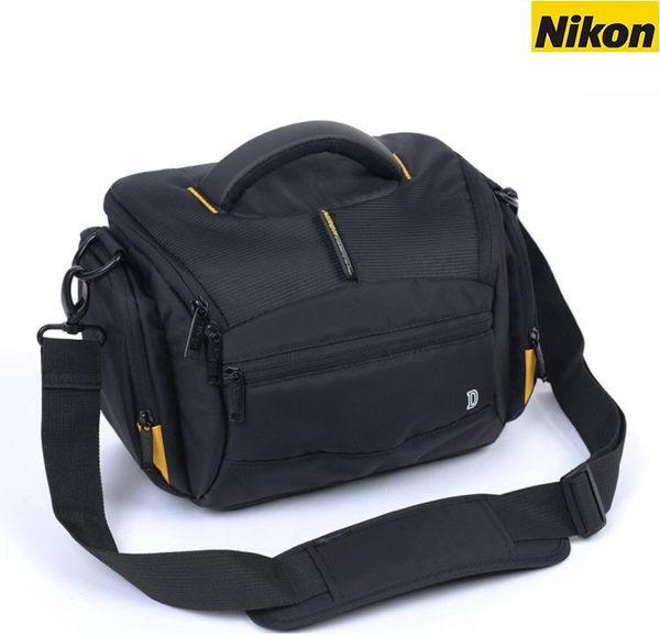 攝彩@全新現貨 Nikon流線包 1機2鏡 側背 附防雨罩 防水 單眼 類單眼適用 Nikon流線款相機包