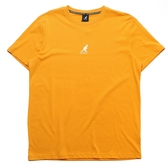 KANGOL 短袖 短T 黃色 胸前小LOGO 背後文字 袋鼠 棉 男 (布魯克林) 6021101162