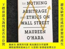二手書博民逛書店Something罕見For Nothing: Arbitrag