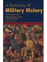 二手書 《A dictionary of military history and the art of war / edited by Andre Corvisier》 R2Y ISBN:0631168486