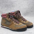冬季戶外中筒男士防水保暖休閒登山徒步旅行鞋雪地靴大碼鞋 ciyo黛雅