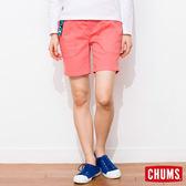 CHUMS 日本 女 Zion 風格窄版短褲 珊瑚粉 CH131021R016