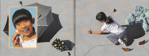 【麥克書店】CHALK/ 英文繪本 《主題: 想像力 Imagination》