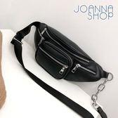 胸背包 PLAY我呸!潮牌風金屬皮革後背包-Joanna Shop