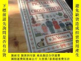 二手書博民逛書店picture罕見it cross stitch 畫十字繡Y13