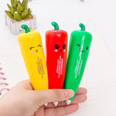 【BlueCat】紅綠黃小甜椒造型修正帶 立可帶
