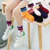 童襪子兒童春秋冬厚款棉襪男女童中筒襪寶寶船襪0-12歲五雙裝 深藏blue