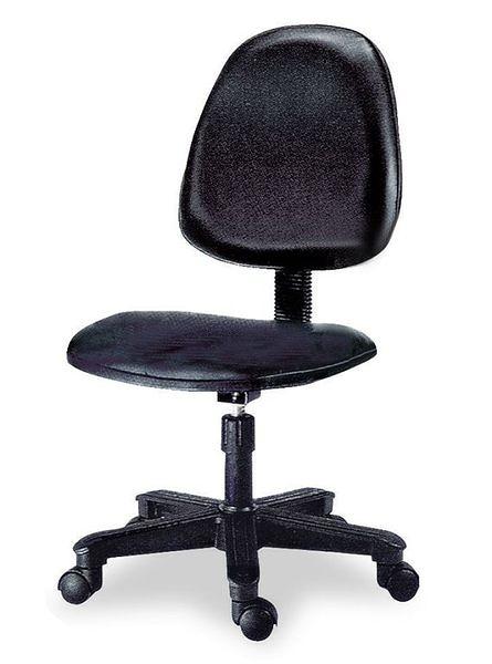HY-Y186-8  電腦椅(黑皮)