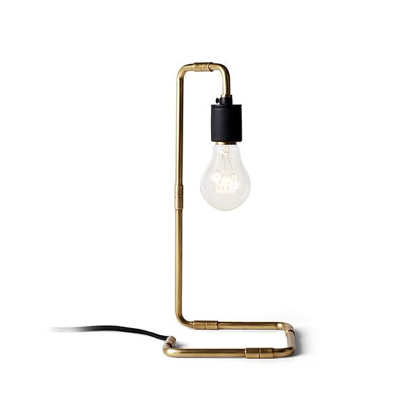丹麥 Menu Tribeca Reade Table Lamp 翠貝卡 線構系列 工業風 桌燈(黃銅色款)