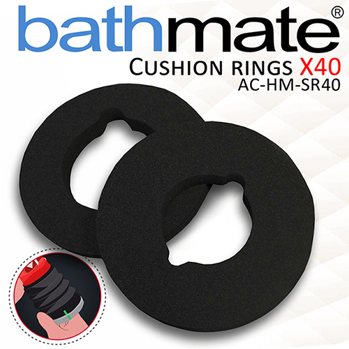 原廠公司貨-英國BathMate X40 專屬配件 CUSHION RINGS 緩衝舒適環2入 AC-HM-SR40