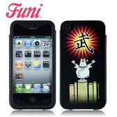 快速出貨 FUNI iPhone4 iPhone4S 武士圖案 皮套 保護套