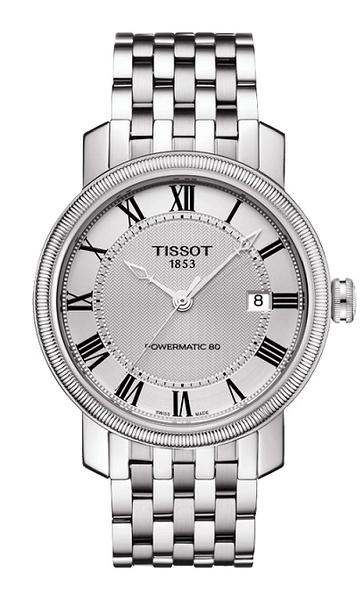 TISSOT Powermatic 80 寶環系列經典自動機械錶-T0974071103300-原廠公司貨/40mm