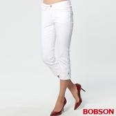 BOBSON 女款鑽飾七分褲(162-80)