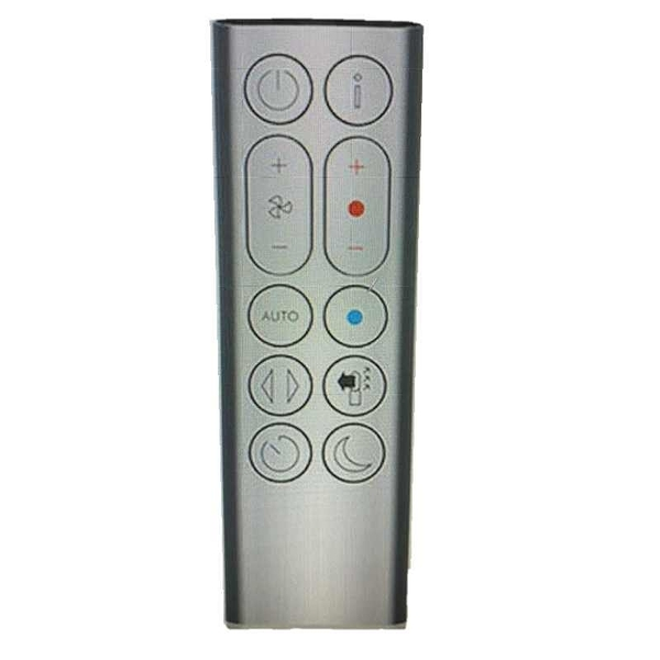[9美國直購] Dyson 遙控器 Remote Control (Iron/Silver) for HP04 Pure Hot + Cool Purifying Heater Fan, Part No. 969897-03