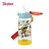 【愛吾兒】日本 Skater PET吸管水壺 480ml-玩具總動員