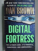 【書寶二手書T3/原文小說_ORA】Digital Fortress_Dan Brown