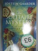 【書寶二手書T1/原文小說_HRH】The Solitaire Mystery 紙牌的秘密