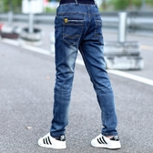 男童牛仔褲10長褲12歲男孩潮春款兒童單褲15 韓版 免運