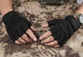 防割手套 51783 軍迷戶外黑鷹戰術手套半指男騎行登山防割作戰特種兵07手套 【限時搶購】
