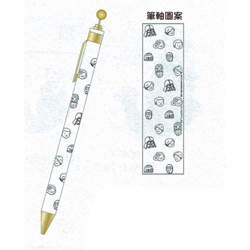 《sun-star》星際大戰原子筆(達斯維達與兒子-白)_UA54348