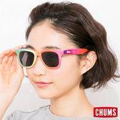 CHUMS 日本 造型抗UV 太陽眼鏡+眼鏡帶限定組(隨機出貨) CH610257