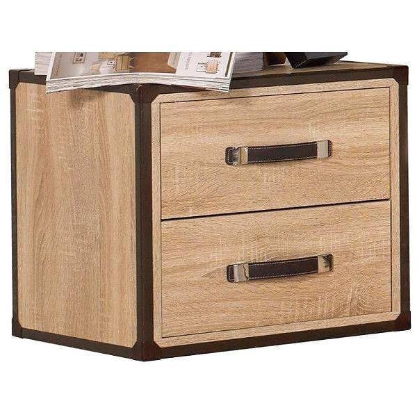 床頭櫃 SB-539-3 溫蒂橡木紋床頭櫃【大眾家居舘】