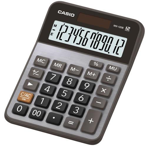 義大文具~CASIO卡西歐 MX-120B 商用12位元計算機 /台 ( 同MX-120S )