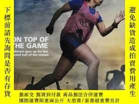 二手書博民逛書店UEFA罕見DIRECT 跑步雜誌 2017年3月 英文版Y42402