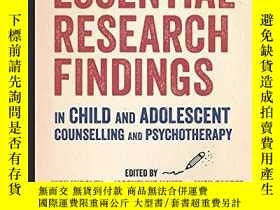 二手書博民逛書店Essential罕見Research Findings In Child And Adolescent Coun