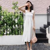吊帶裙-條紋韓版時尚精選優雅女背帶裙2色73rx52[巴黎精品]