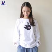 【早秋新品】American Bluedeer - 小鹿寬鬆棉T(魅力價) 秋冬新款