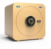保險櫃40cm家用太空艙指紋密碼全鋼入墻小型指紋保險箱新品wy 快速出貨