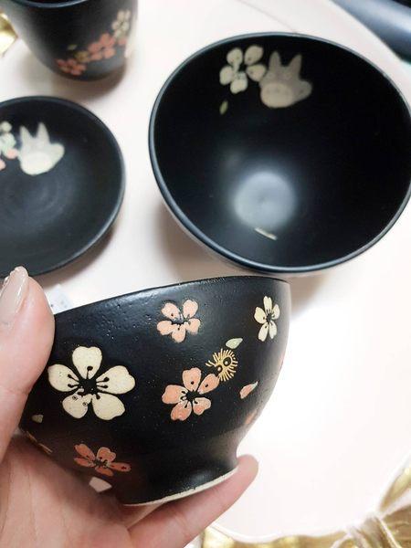 宮崎駿龍貓豆豆龍湯碗飯碗陶瓷碗櫻花碗308840通販屋