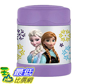 [105美國直購] 保溫杯 Thermos Funtainer 10 Ounce Food Jar Frozen Purple F3005FZ6