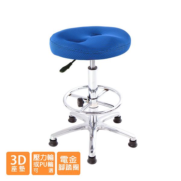 GXG 成型泡棉 工作椅 型號T09LU XK (電金踏圈款)