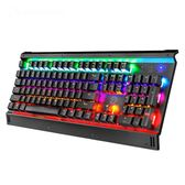 機械鍵盤ek812黑軸青軸茶軸紅軸104鍵電競吃雞游戲     WY【端午節免運限時八折】
