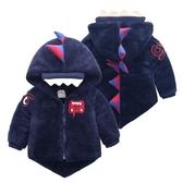 限定款鋪棉厚外套 嬰兒冬裝童裝女寶寶棉衣刷毛外套內刷毛加厚 女童棉服嬰兒棉襖0-1-2-3歲