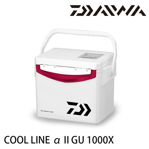 漁拓釣具 DAIWA COOL LINE ALPHA II GU 1000X [硬式冰箱]