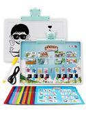 禮物學習機 兒童中英文電子點讀書有聲書早教拼音幼兒點讀機學0-3歲6筆發聲書YYP 俏女孩