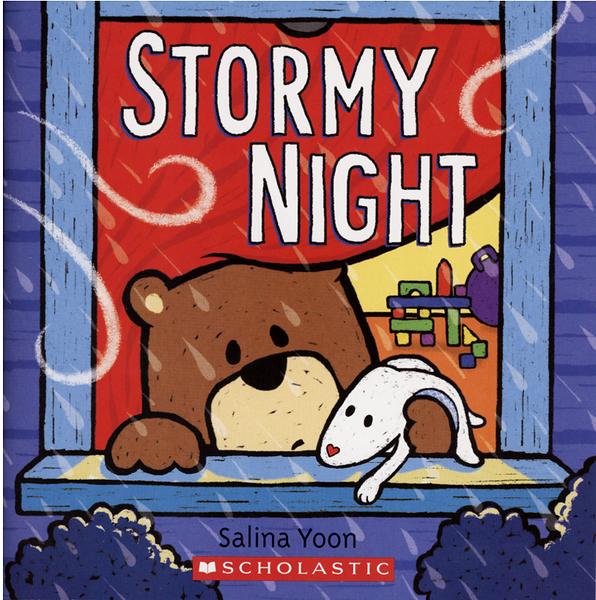 【麥克書店】STORMY NIGHT / 平裝繪本/作者: Salina Yoon