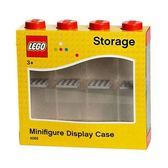 LEGO 樂高 Storage 人偶展示格 四柱八間 紅 【鯊玩具Toy Shark】