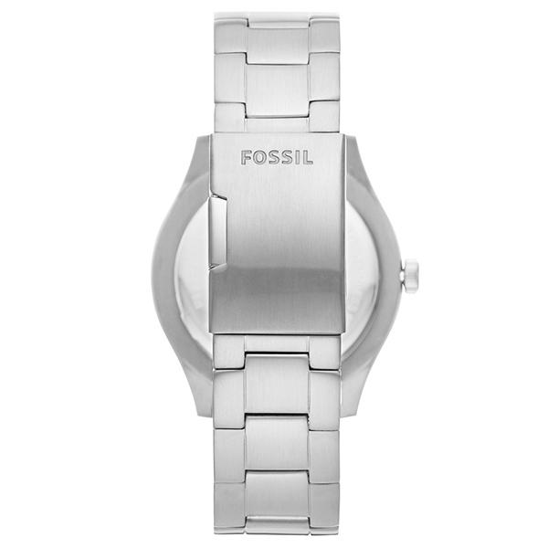 【台南 時代鐘錶 FOSSIL】FS5575 BELMAR 時尚運動三眼計時腕錶 黑/銀 44mm