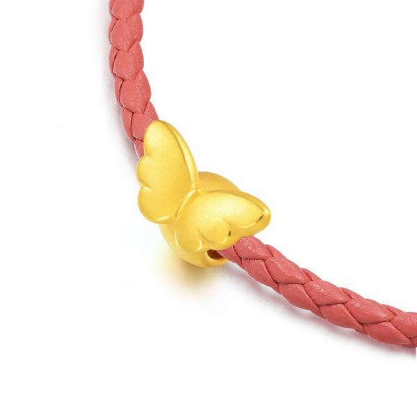 點睛品Charme系列 黃金串飾 天使之翼