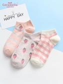 船襪 錬子女短襪淺口女士棉襪船襪可愛日系隱形襪【免運直出】