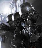 戶外軍迷M04防毒防霧面罩 CS戰術全臉防護面具帶鏡片 歐亞時尚